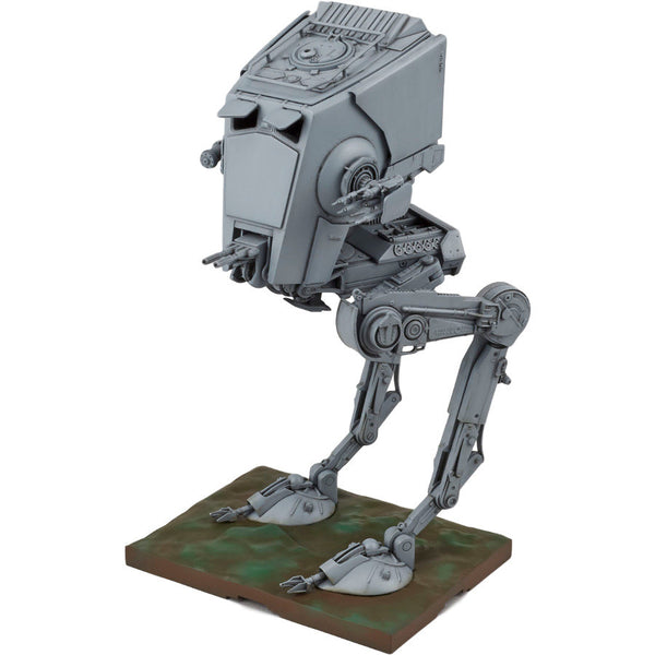 Star Wars Plastic Model Kit - 1/48 scale AT-ST - Bandai - Woozy Moo - 1