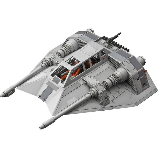 Star Wars Plastic Model Kit - 1/48 scale Snowspeeder - Bandai - Woozy Moo - 1