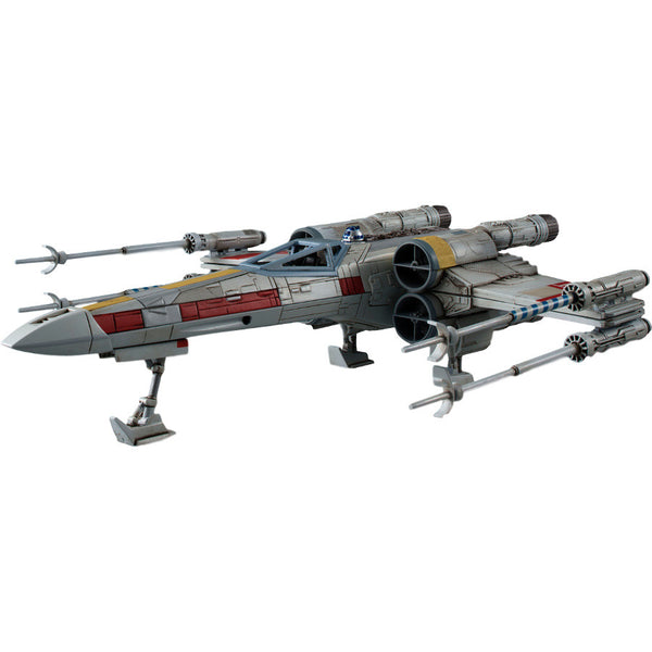 Star Wars Plastic Model Kit - 1/72 scale X-wing starfighter - Bandai - Woozy Moo - 1