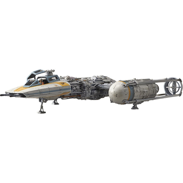 Star Wars Plastic Model Kit - 1/72 scale Y-wing starfighter - Bandai - Woozy Moo - 1