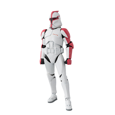 Star Wars Episode II: Attack of the Clones – Clone Trooper Phase 1 Captain - S.H.Figuarts - Exclusive