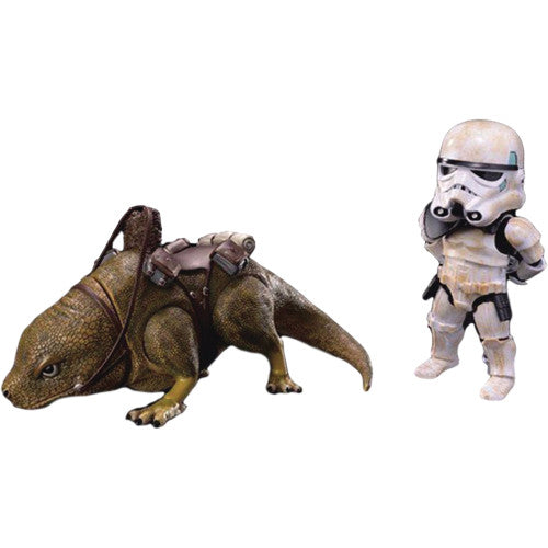 Star Wars Episode IV A New Hope - Sandtrooper & Dewback PX (EAA-014S) - Exclusive - Beast Kingdom - Woozy Moo - 1