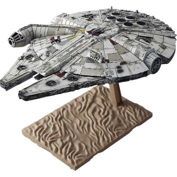 Star Wars Plastic Model Kit - 1/144 scale Millennium Falcon - Bandai - Woozy Moo