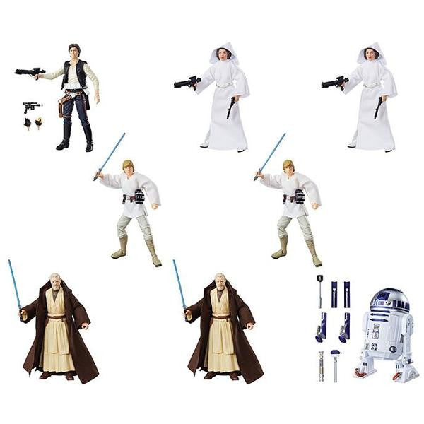 "Star Wars - Black Series 6"" 40th Anniversary Figure Wave 01 - Case of 8 - Hasbro - Woozy Moo"