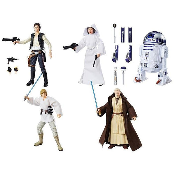 "Star Wars - Black Series 6"" 40th Anniversary Figure Wave 01 - Case of 5 - Hasbro - Woozy Moo"