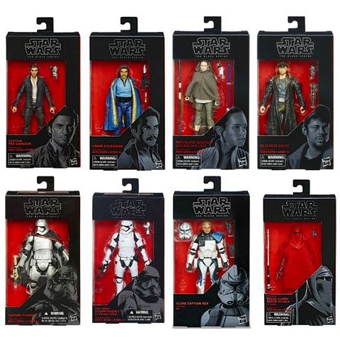"Star Wars The Black Series 6"" Action Figures Wave 26 Case of 8"