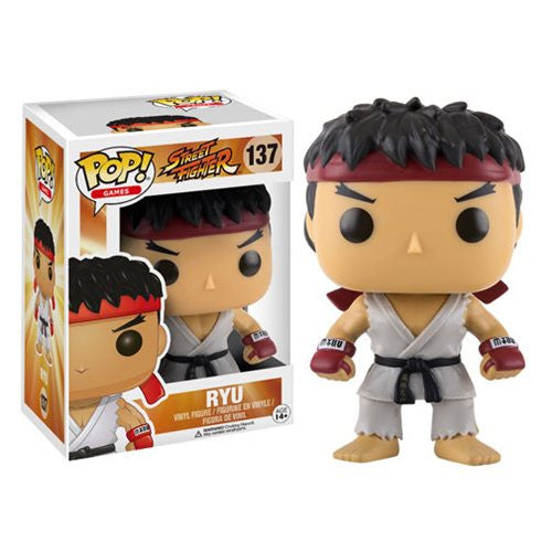 Street Fighter Ryu Pop! Vinyl Figure - Funko - Woozy Moo