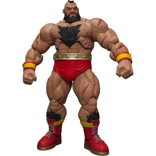 Street Fighter V - Zangief 1/12 Action Figure - Storm Collectibles - Woozy Moo