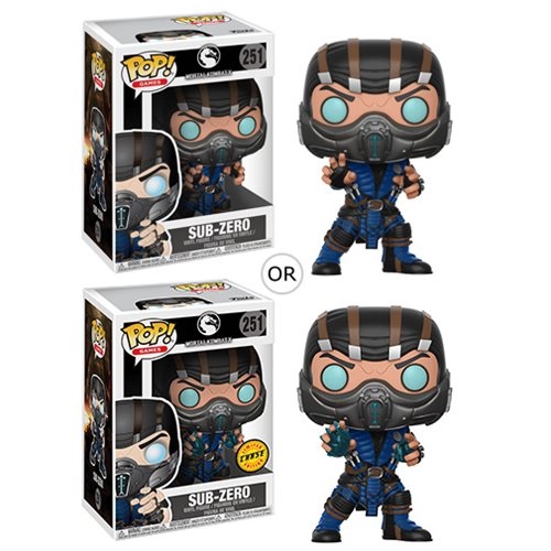 Sub-Zero (with chance of CHASE) | Mortal Kombat X | POP! Games Vinyl Figure #251 | Funko | Woozy Moo