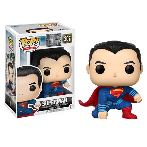 Superman (Henry Cavill) - DC Justice League (2017) - Pop! Heroes Vinyl Figure - Funko - Woozy Moo