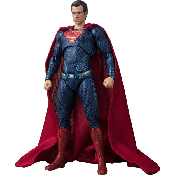 Superman (Henry Cavill as Kal-El / Clark Kent) | Justice League (2017, DC Extended Universe) | S.H.Figuarts | Bandai Tamashii Nations | Woozy Moo