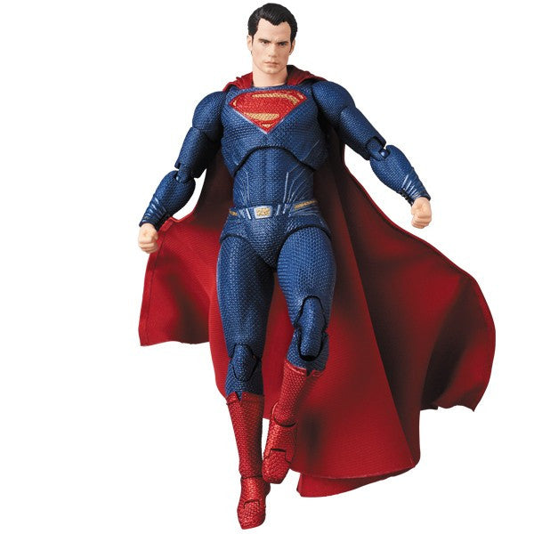 Superman (Henry Cavill) | Justice League (DC Cinematic Universe) | MAFEX No. 057 (Miracle Action Figure) | Medicom | Woozy Moo