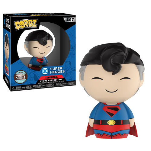 Kingdom Come Superman (Specialty Series Exclusive) | DC Super Heroes | DORBZ Vinyl Collectible 407 | Funko | Woozy Moo