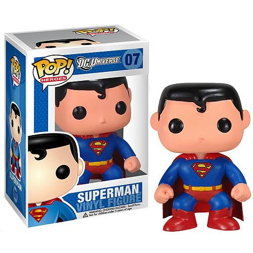 DC Pop! Vinyl Figure - Superman - Funko - Woozy Moo