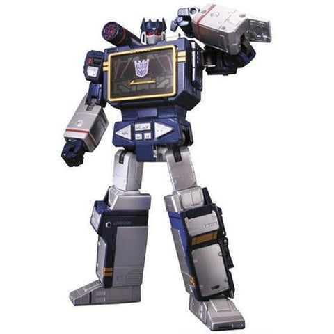 Transformers Masterpiece Soundwave with Laserbeak 3rd Production Run (MP-13)