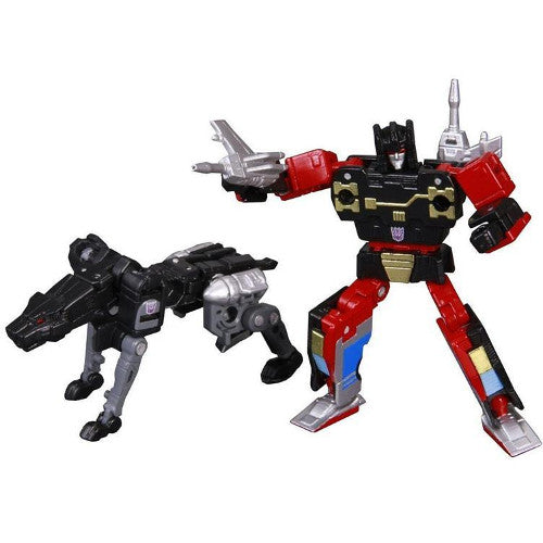 Transformers Masterpiece Rumble & Jaguar (Ravage) Set Reissue (MP-15) - Takara - Woozy Moo - 1