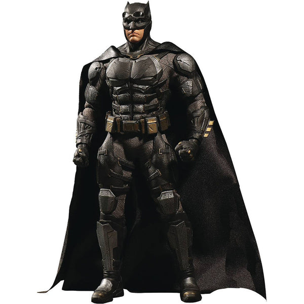 Tactical Suit Batman (Ben Affleck as Bruce Wayne) | DC's Justice League (2017, DC Extended Universe) | One:12 Collective | Mezco Toyz | Woozy Moo