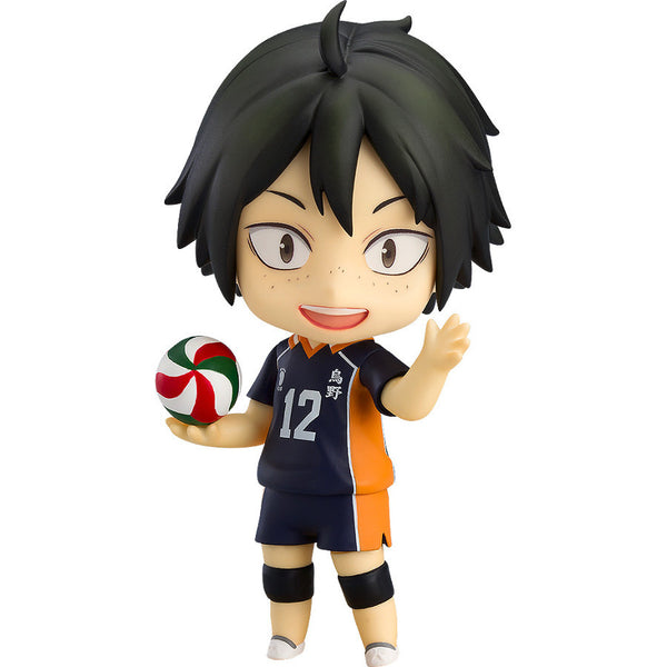 Tadashi Yamaguchi (山口 忠, Yamaguchi Tadashi) - Haikyu!! (ハイキュー!!, Haikyū!!, Haikyuu!!) Karasuno High VS Shiratorizawa Academy - Nendoroid 765 - Orange Rouge (Good Smile Company) - Woozy Moo
