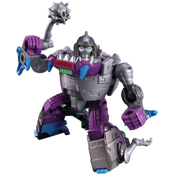 Sharktron (Sharkticon) & Sweeps - Transformers Legends - LG44 - Takara Tomy - Woozy Moo