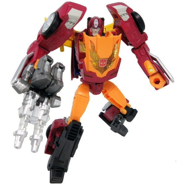 Targetmaster Hot Rodimus (Hot Rod) & Firebolt - Transformers Legends - LG45 - Takara Tomy - Woozy Moo