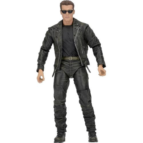 "Terminator 2 - T-800 7"" Action Figure (25th Anniversary 3D release) - NECA - Woozy Moo - 1"