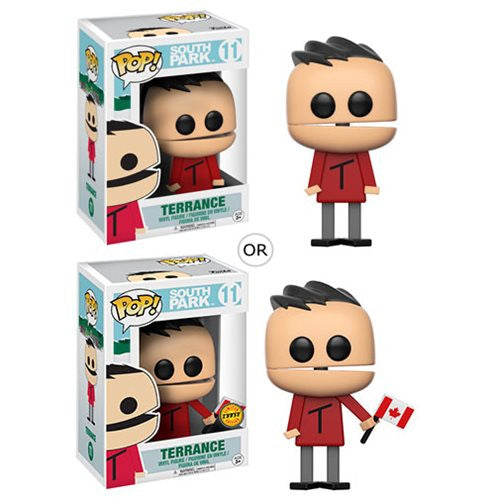 Terrance (with chase) | South Park | POP! Vinyl Figure | Funko | Woozy Moo