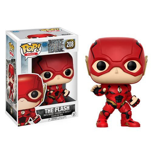 The Flash (Ezra Miller) - DC Justice League (2017) - Pop! Heroes Vinyl Figure - Funko - Woozy Moo