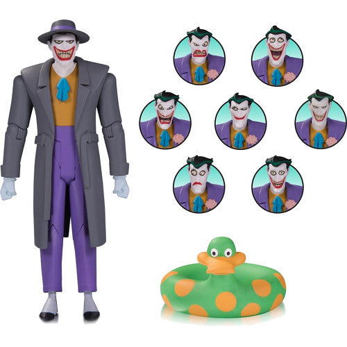 The Joker Expressions Pack | Batman: The Animated Series | Action Figure Pack | DC Collectibles | Woozy Moo