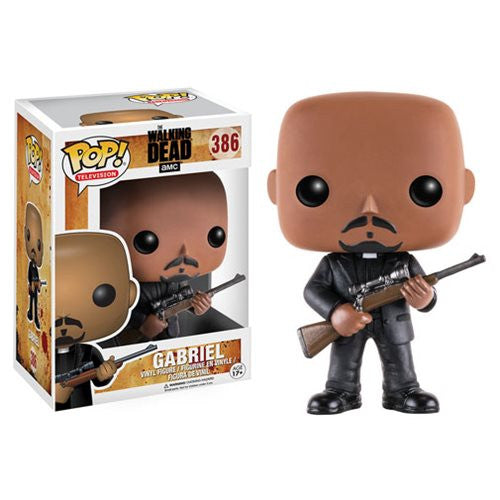 The Walking Dead Gabriel Pop! Vinyl Figure - Funko - Woozy Moo