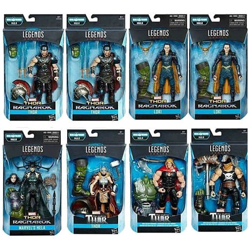 "Thor: Ragnarok (Gladiator Hulk Build-A-Figure) Case of 8 | Marvel Cinematic Universe | Marvel Legends 6"" Action Figure 