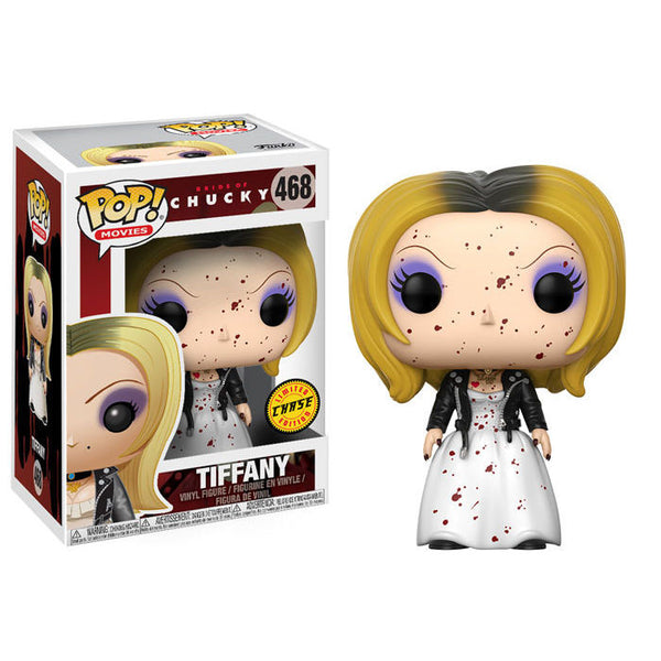 Tiffany (CHASE) | Bride of Chucky | POP! Movies Vinyl Figure | Funko | Woozy Moo