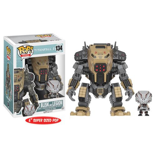 Titanfall 2 - Blisk Pop! Vinyl Figure and Legion Titan Vehicle - Funko - Woozy Moo