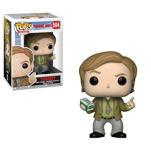 Tommy | Tommy Boy | POP! Movies Vinyl Figure 504 | Funko | Woozy Moo