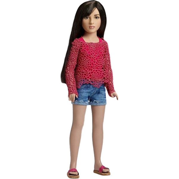 Jazz Jennings Doll - World's First-Ever Transgender Doll - Tonner Doll Company - Woozy Moo