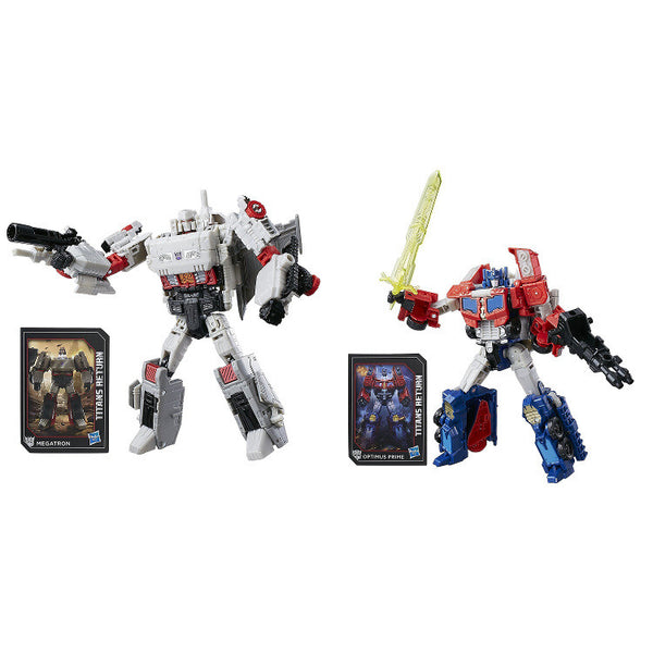 Transformers Titans Return Voyager Class - Wave 3 Set - Hasbro - Woozy Moo