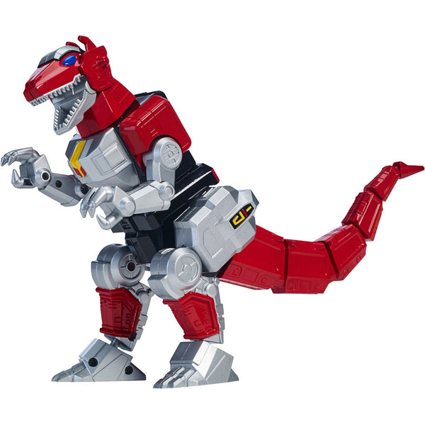 Tyrannosaurus Rex | Mighty Morphin Power Rangers | Legacy Deluxe Zord | Bandai America | Woozy Moo