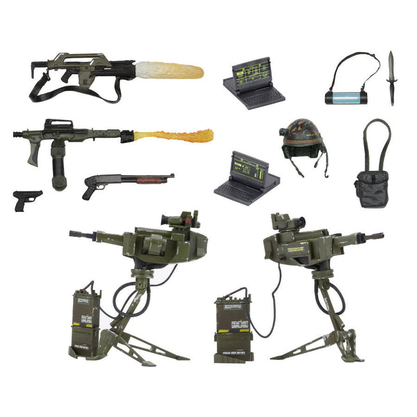 USCM Arsenal Weapons Pack - Aliens - Accessory Pack - NECA - Woozy Moo