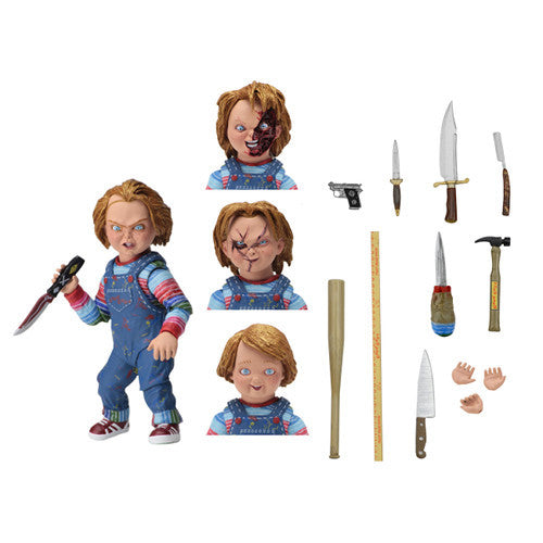 "Ultimate Chucky​ | Child's Play | 7"" Scale Action Figure 