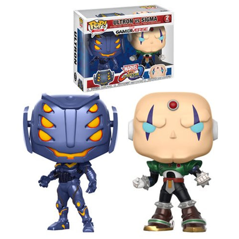 Ultron Sigma 2-pack Marvel vs Capcom Infinite GamerVerse Pop Games Vinyl Figures