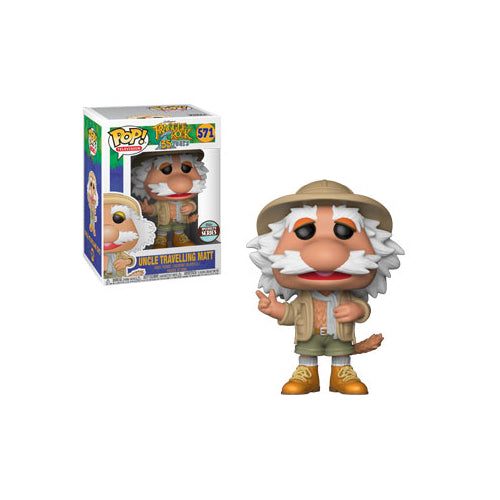 Uncle Travelling Matt (Specialty Series Exclusive) | Fraggle Rock | POP! Television Vinyl Figure 571 | Funko | Woozy Moo