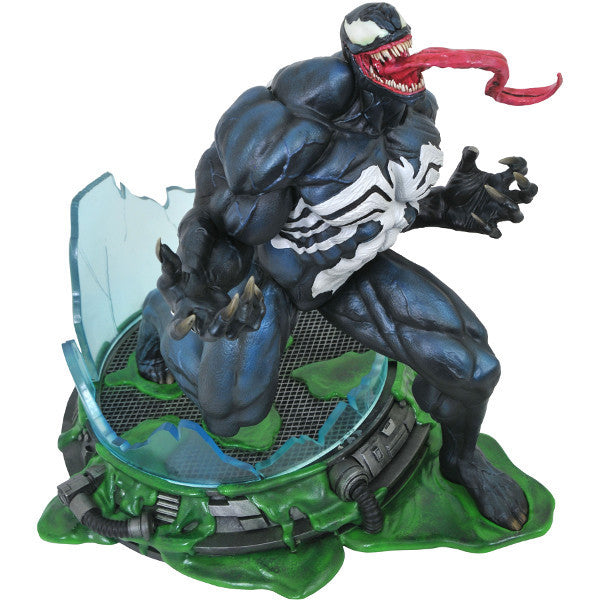 Venom | Spider-Man | Marvel Premier Collection 12-inch Resin Statue | Diamond Select Toys / Alejandro Pereira | Woozy Moo