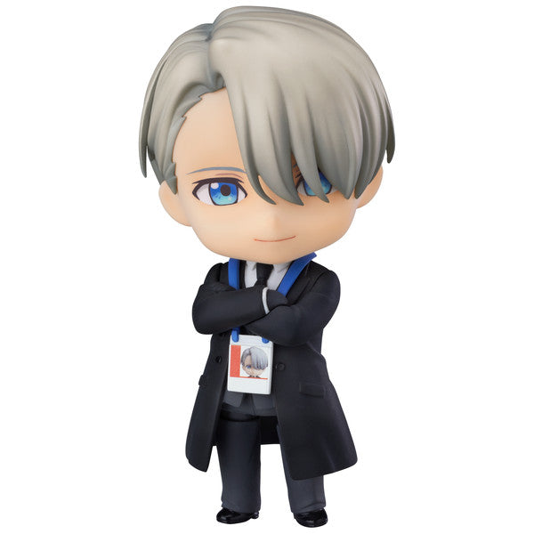 Victor Nikiforov: Coach Ver. | Yuri on Ice (ユーリ!!! on ICE, YŪRI!!! on ICE, YUURI!!! on ICE) | Nendoroid 865 | ORANGE ROUGE (GOOD SMILE COMPANY) | Woozy Moo
