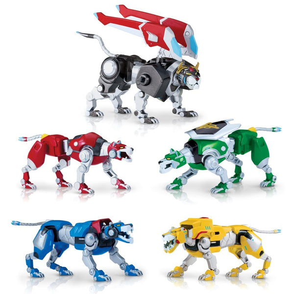 Voltron: Legendary Defender - Die-Cast Lions Action Figures - Playmates - Woozy Moo