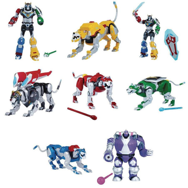 "Voltron 5"" Figures (Assortment of 12) - Voltron: Legendary Defender - Playmates - Woozy Moo"