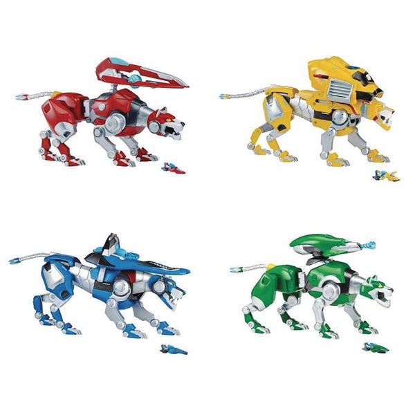 Four Lions Figures - Voltron: Legendary Defender - Playmates - Woozy Moo - 1
