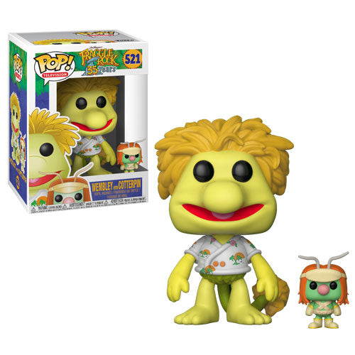 Wembley with Doozer | Fraggle Rock | POP! Television Vinyl Figure 521 | Funko | Woozy Moo