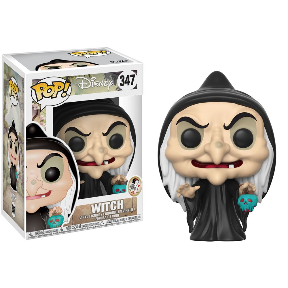 Witch | Snow White and the Seven Dwarfs (1937) | POP! Disney Vinyl Figure 347 | Funko | Woozy Moo
