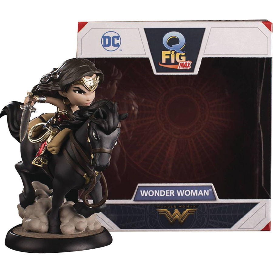 Wonder Woman (Diana, Amazon Princess of Themyscira) | Wonder Woman (2017, DC Cinematic Universe) | Q-Fig Max | Quantum Mechanix (QMx) | Woozy Moo