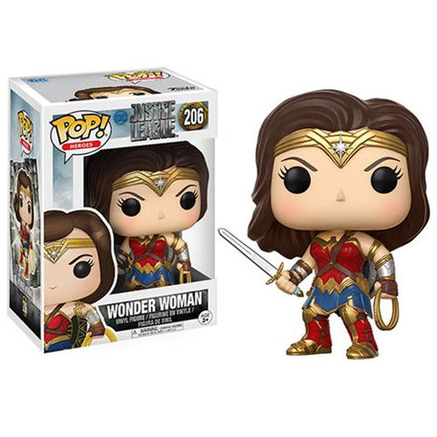 Wonder Woman Justice League Pop Vinyl Figure