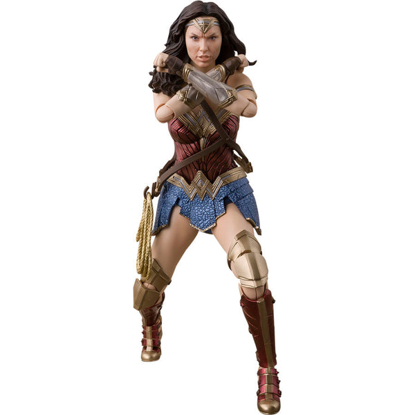 Wonder Woman | Justice League (DC Cinematic Universe) | S.H.Figuarts (SHFiguarts, SH Figuarts) | Bandai Tamashii Nations | Woozy Moo